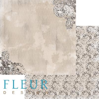 """Лист бумаги """"Память"""", коллекция """"Блошиный рынок"""" (Fleur design), 30х30 см"""