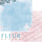 """Лист бумаги """"Праздник к нам приходит"""", коллекция """"Новогодняя сказка"""" (Fleur design), 30х30 см"""