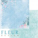 """Лист бумаги """"Подарки под елкой"""", коллекция """"Новогодняя сказка"""" (Fleur design), 30х30 см"""