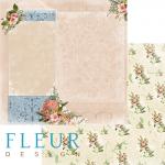 "Лист бумаги ""Письмо домой"", коллекция ""Краски осени"" (Fleur design), 30х30 см"