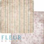 """Лист бумаги """"Январское утро"""", коллекция """"Зимние узоры"""" (Fleur design), 30х30 см"""