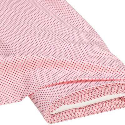 """Хлопок """"Горох, розовый"""", Германия, отрезок 35*50 см"""