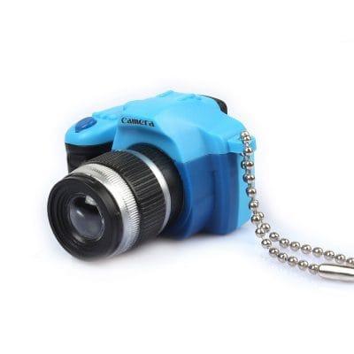 Кукольный фотоаппарат, синий, 3 см, 1 шт.