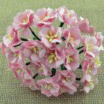 Цветы яблони 2,5 см, нежно-розовый, 5 шт