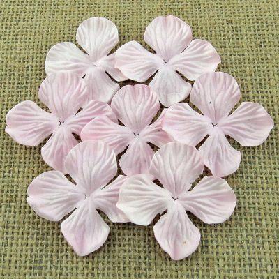 Гортензия мини 2,5 см, нежный розовый, 10 шт.