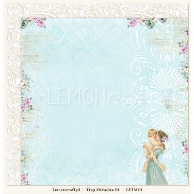 """Лист бумаги """"Tiny Miracles 04"""" (Lemon Craft), 30,5х30,5 см"""