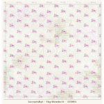 """Лист бумаги """"Tiny Miracles 05"""" (Lemon Craft), 30,5х30,5 см"""
