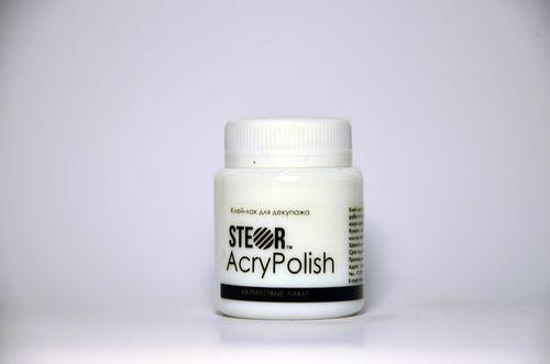 Клей-лак акриловый матовый AcryPolish, 80 мл
