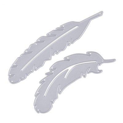 """Нож для вырубки """"Перья"""", 2 шт."""