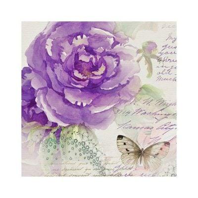 "Салфетка для декупажа ""Miracle Roses"",  33 см, 3 слоя"