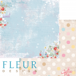 """Лист бумаги для скрапбукинга """"Сказки"""", коллекция """"Пупсики"""" (Fleur design), 30х30 см"""