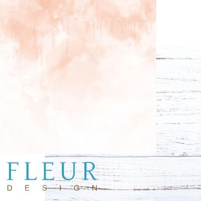"""Лист бумаги для скрапбукинга """"Рядом с тобой"""", коллекция """"Скажи """"Да""""!"""" (Fleur design), 30х30 см"""