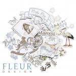 """Набор высечек, коллекция """"Наш малыш - мальчик""""  (Fleur design)"""