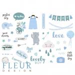 """Лист для вырезания коллекция """"Мой джентльмен""""  (Fleur design), А4"""