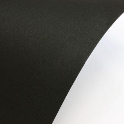 """Гладкая дизайнерская бумага """"Сирио"""", цвет черный,  25х30 см, 290 г/м2."""