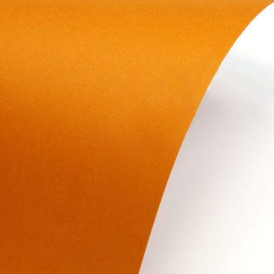 """Гладкая дизайнерская бумага """"Сирио"""", цвет оранжевый, А4, 290 г/м2."""