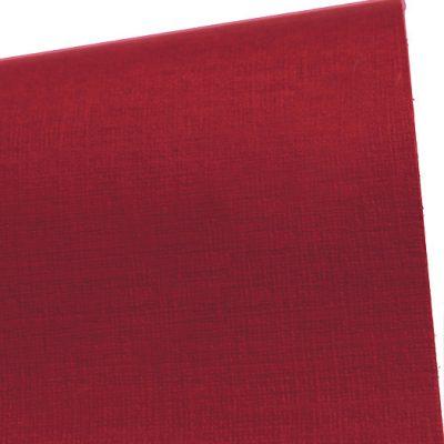 """Дизайнерская бумага с тиснением """"Сирио"""", цвет вишня, 30х30 см, 290 г/м2."""