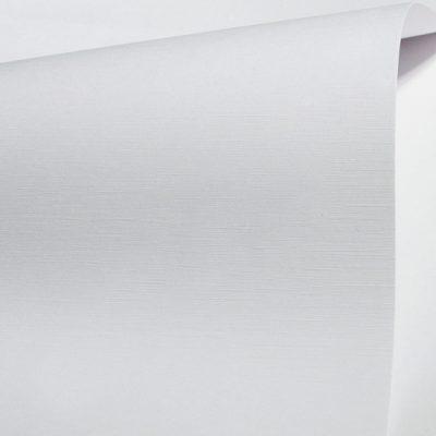 """Дизайнерская бумага с тиснением шелк """"Констеллейшн Сноу"""", цвет белый, 30х30 см, 280 г/м2."""