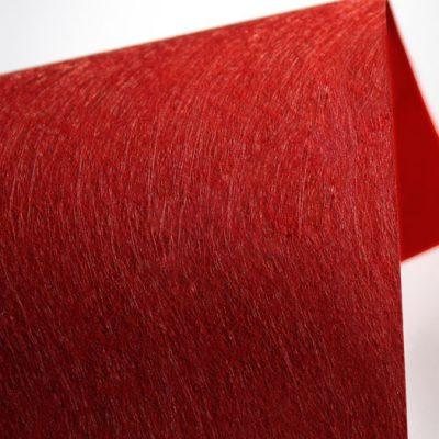"""Фактурная дизайнерская бумага """"Твист"""", цвет красный, 30х30 см, 290 г/м2."""