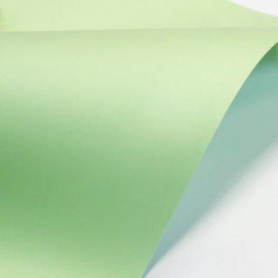"""Дизайнерская бумага """"Пэйперлайн"""", цвет лагуна,  30х30 см, 245 г/м2."""