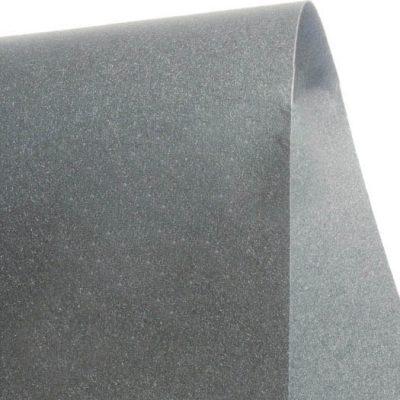 """Дизайнерская бумага """"Сияние"""" с перламутром, цвет железо, 30х30 см, 290 г/м2."""