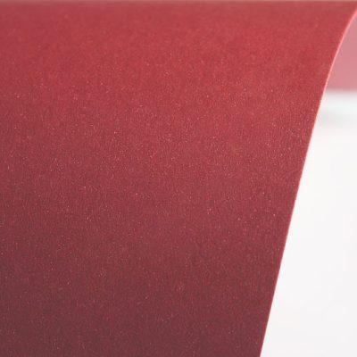 """Дизайнерская бумага """"Сияние"""" с перламутром, цвет рубин, 30х30 см, 290 г/м2."""