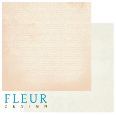 """Лист бумаги """"Личный дневник"""" , коллекция """"Цветущая весна"""" (Fleur design), 30х30 см"""