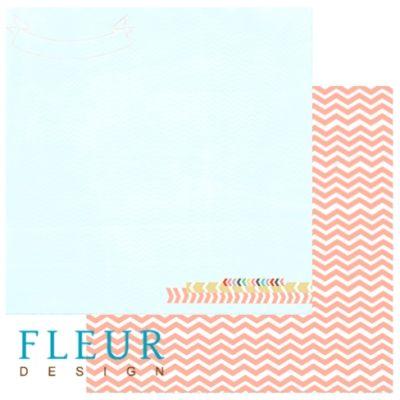 """Лист бумаги """"Простор"""", коллекция """"Следуй за мечтой"""" (Fleur design), 30х30 см"""