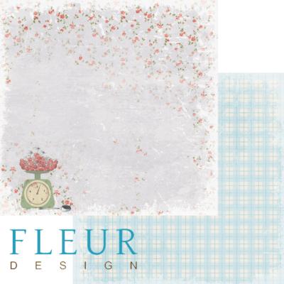 """Лист бумаги """"Урожай"""", коллекция """"Вишневый десерт"""" (Fleur design), 30х30 см"""