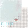 """Лист бумаги """"Варенье"""", коллекция """"Вишневый десерт"""" (Fleur design), 30х30 см"""