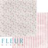 """Лист бумаги """"Цветение"""", коллекция """"Вишневый десерт"""" (Fleur design), 30х30 см"""