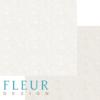 """Лист бумаги """"Тиснение Кремовый"""", коллекция """"Романтика"""" (Fleur design), 30х30 см"""