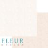 "Лист бумаги ""Тиснение Персик"", коллекция ""Романтика"" (Fleur design), 30х30 см"