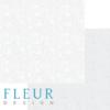 "Лист бумаги ""Тиснение Дымка"", коллекция ""Романтика"" (Fleur design), 30х30 см"