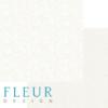 "Лист бумаги ""Тиснение Ваниль"", коллекция ""Романтика"" (Fleur design), 30х30 см"