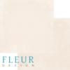 """Лист бумаги """"Винтаж Персик"""", коллекция """"Романтика"""" (Fleur design), 30х30 см"""