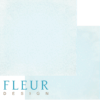 "Лист бумаги ""Винтаж Небесный"", коллекция ""Романтика"" (Fleur design), 30х30 см"
