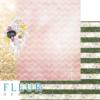 "Лист бумаги ""АБВ"", коллекция ""Моя школа"" (Fleur design), 30х30"