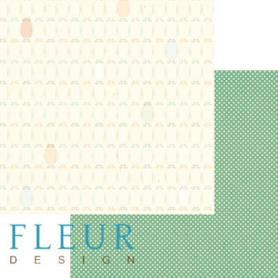 """Лист бумаги """"Баночки"""", коллекция """"Дыхание осени"""" (Fleur design), 30х30 см"""
