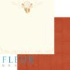 """Лист бумаги """"Ловец снов"""", коллекция """"Дыхание осени"""" (Fleur design), 30х30 см"""