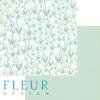"""Лист бумаги """"Поляна"""", коллекция """"Зарисовки весны"""" (Fleur design), 30х30 см"""