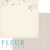 """Лист бумаги """"Полет"""", коллекция """"Зарисовки весны"""" (Fleur design), 30х30 см"""