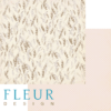 """Лист бумаги """"Перья"""", коллекция """"Зарисовки весны"""" (Fleur design), 30х30 см"""