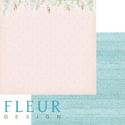 """Лист бумаги """"В саду"""", коллекция """"Зарисовки весны"""" (Fleur design), 30х30 см"""