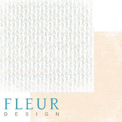 """Лист бумаги """"В саду"""", коллекция """"Наша свадьба"""" (Fleur design), 30х30 см"""