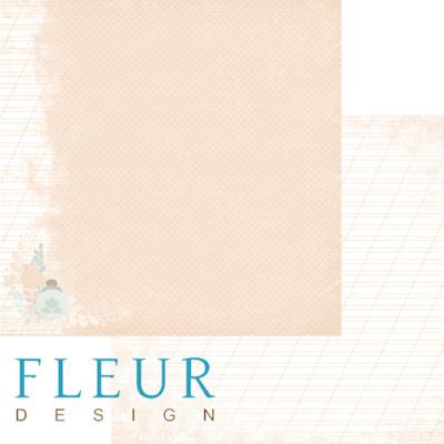 """Лист бумаги """"Комната невесты"""", коллекция """"Наша свадьба"""" (Fleur design), 30х30 см"""