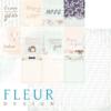 """Лист бумаги """"Карточки"""", коллекция """"Наша свадьба"""" (Fleur design), 30х30 см"""