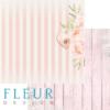 """Лист бумаги """"Пионовая любовь"""", коллекция """"Мой сад"""" (Fleur design), 30х30 см"""