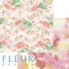 """Лист бумаги """"Акварельный букет"""", коллекция """"Мой сад"""" (Fleur design), 30х30 см"""