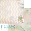 """Лист бумаги """"Фактура весны"""", коллекция """"Мой сад"""" (Fleur design), 30х30 см"""